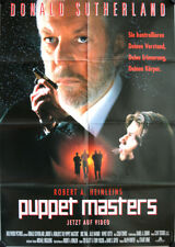 Puppet Masters German video movie poster A1 Donald Sutherland Thal, Julie Warner
