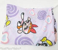 "Vintage Powerpuff Girls Purple Heart 1990s Fitted Twin 39x75"" Fabric Craft Sheet"
