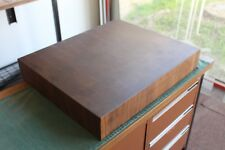 Hardwood Butchers Block / End Grain Cutting Board Hand Made to Order 60x50x8 cm