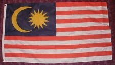 Malaysian Flag 5x3 Muslim/Islam Kuala Lumpur Borneo Southeast Asia Tourism bnip