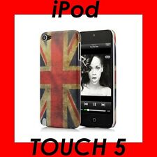 ★★★ vintage english flag uk * for apple ipod touch 5 *