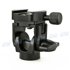 MONOPOD HEAD WITH ARCA COMPATIBLE QUICK RELEASE CLAMP TRIPOD CANON NIKON SONY