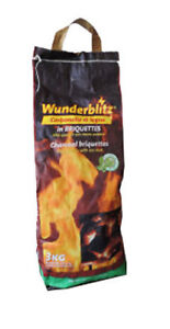 Carbonella carbone per barbecue barbecues  WUNDERBLITZ - Sacco da 3 Kg
