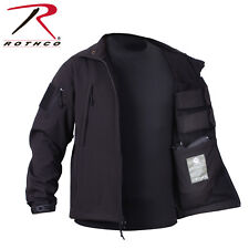 Rothco Waterproof Concealed Carry SoftShell Jacket Cold Weather w/ Watch Cap