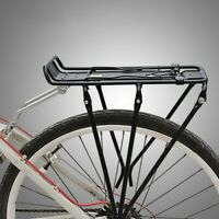 Rear Rack Frame Aluminum Bicycle Bike Seat Column Rack Luggage Carrier Cargo US