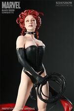 Black Queen Comiquette Statue #700/1500 Sideshow MIB