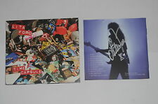 New SIGNED Lita Ford Time Capsule CD Autographed Joan Jett Runaways Fast Shippin