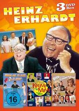 HEINZ ERHARDT Box Otto ist auf Frauen scharf OHNE KRIMI GEHT MIMI NIE 3 DVD Neu