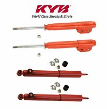 Ford Mustang 1994-2004 Front and Rear Shock Absorber Kit KYB AGX 734014 / 743021