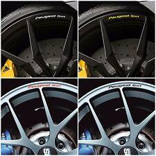 x8 PEUGEOT SPORT Rims Wheels Decal Stickers 206 207 208 308 307CC RCZ GTI Racing
