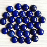 Oval Shape Cabochon Loose Gemstone,Size 41X39X9 mm  B-356 Natural Lapis Lazuli Gemstone