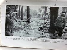 m5-1b ephemera 1940s ww2 picture allies enter blerick