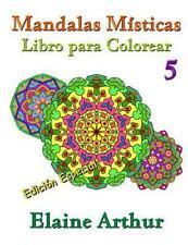 Mandalas Misticas: Mandalas Misticas Libro para Colorear No. 5 Edicion...