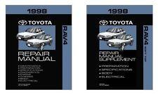 1998 Toyota Rav4 w/ Soft Top Supplement Shop Service Repair Manual