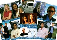 CSI Miami Series 1 Ten Card Preview Card Set with A.E.Zuiker Autograph Card