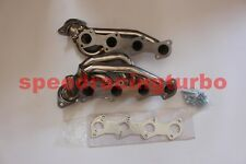 Stainless Steel Shorty Header Exhaust Manifold for 2005-2010 Ford Mustang GT 4.6