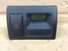 01 02 Accord Digital Clock Hazard Switch Used OEM