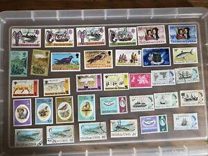 Tristan Da Cunha stamps - unchecked collection (cc707)