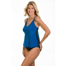 New Magicsuit Miraclesuit Tankini 12 42 Two Piece Slimming Venus Ocean Blue