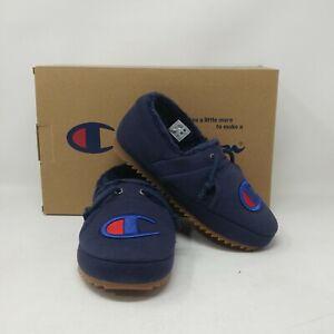 Champion University Slippers- US Unisex Sizing, Navy CPS10282Y