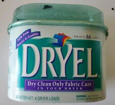 Dryel At Home Dry Cleaning Starter Kit Original 16 Garments Dryer New & Sealed