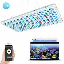 Relassy LED Aquarium Light Panel- APP Control Full Spectrum Coral Reef...