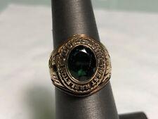 Vintage 1969 Josten'S 10K Yellow Gold West Hazleton High School Ring Size 5.75