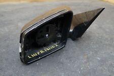 Left Power Blind Spot Door Mirror Black OEM Mercedes E350 E400 E550 Coupe 14-17