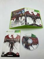 Microsoft Xbox 360 CIB Complete Tested Dragon Age II Ships Fast