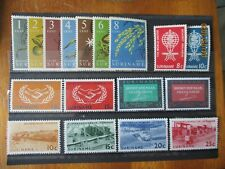 Suriname ~ 5 x Complete MNH Sets ~ Lot 2