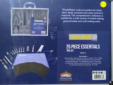 Bachmann Model Maker  MM014 25 Piece Essential Model Maker Tool Set BNIB