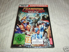 Champions Online (PC, 2009, DVD-BOX) ovp&neu