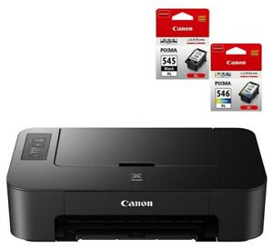 BRAND NEW Canon PIXMA TS205 A4 Inkjet Printer + INK set