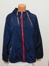 Tommy Hilfiger Womens Windbreaker Jacket Size MEDIUM Blue