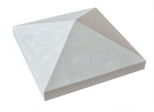 Pfeilerabdeckung SA 13 Sandstein Spitzdach Mauerabdeckung Zeltdach 4-seitig