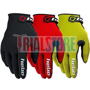 Hebo Junior Team Trials Riding Gloves 3 Colours -Trials-Offroad-Adventure FreePP