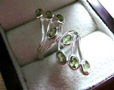 Unbranded Cluster Oval Not Enhanced Fine Gemstone Rings