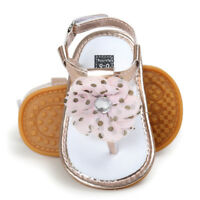 Summer Fashion Infant Baby Flower Pearl Sandals Toddler Princess Girl Kid Shoes