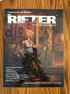 Palladium Books THE RIFTER NUMBER SIX #6 Megaverse Role Playing1999 Gamma World