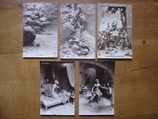 1916 CPA lot 5 cartes postales Postcard MASTROIANNI Ancien Testament TOBIE DAVID