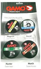 Gamo BSA 4 canettes 177 Air Gun Rifle Pellets Magnum Energy, Hunter, Match, Round BBS