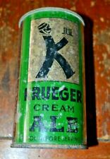 Kruger Cream Ale Irtp Open Instructional Flat Top Beer Georgia Tax Stamp Lid