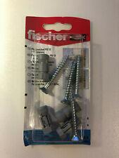 Fischer Plattendübel PD 12 +Schrauben 4 Stück