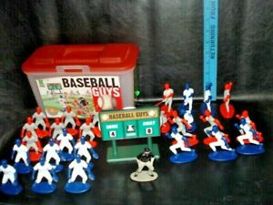 Kaskey Kids BASEBALL GUYS ~ 26 PLAYERS SCOREBOARD, UMPIRE,MISSING FIELD MAT