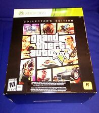 RARE NEW GTA 5 Grand Theft Auto V COLLECTOR'S EDITION XBOX 360 X360 DLC INCLUDED