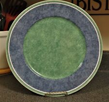 Villeroy & Boch Costa Switch 3 Germany Green & Blue Chop Plate 12.5""