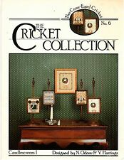 Cross Stitch Pattern Leaflet: The Cricket Collection Candlescreens 1