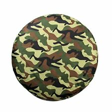 """Universal 15"""" Spare Wheel Tire Tyre Cover Case Soft Protector 70-75cm Camouflage"""