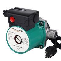 "110V 3/4""Stainless Steel Hot Water Circulation Pump 3-Speed Recirculating Pump"