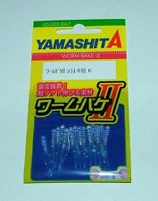 YAMASHITA SHIRAZU WORM II Maria Yamaria 26 mm col K trasparente glitterato